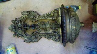 fuente bronce