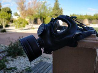 Máscara gas airsoft
