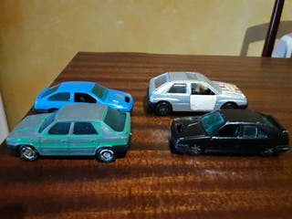 coches miniatura escala 1/64 GUILOY