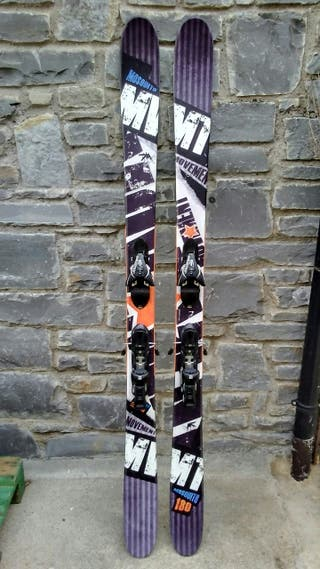 Esquís Movement de freestyle/freeride