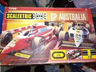Scalextric GP Australia.