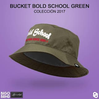 Gorro Bold School perscadora verde oliva