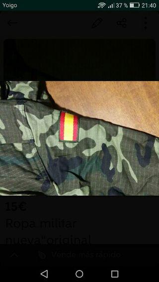 16d2abd0a32 Ropa militar de segunda mano en la provincia de Valencia en WALLAPOP