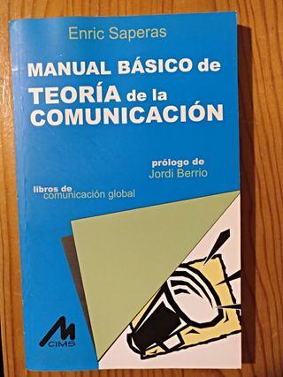 Manual básico de teoría de la comunicación.