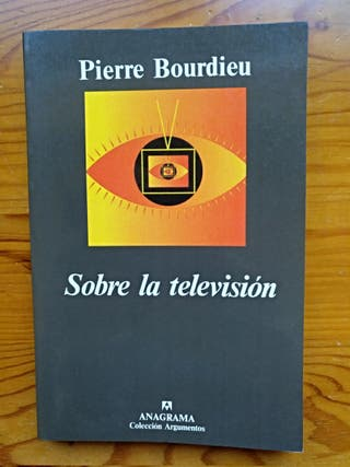 Sobre la televisión.