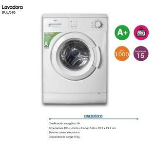 lavadora NUEVA 5 kg
