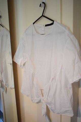 Zara White Shirt New