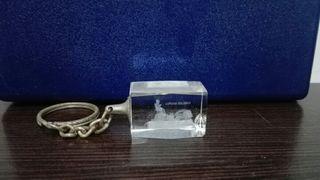 Llavero de cristal