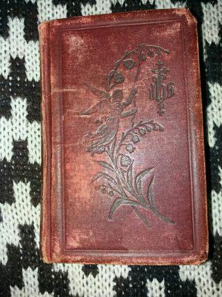 antiguo libro religioso