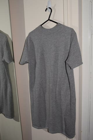 Zara basic grey dress