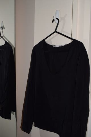 Basic Black Shirt ZAra