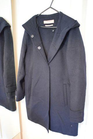 Coat wood Zara