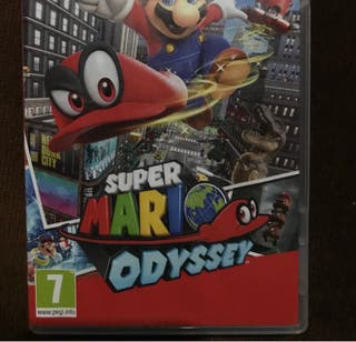 Mario odissey switch