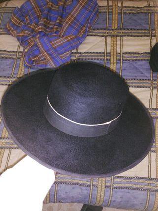 Sombrero Cordobes auténtico de pelo de conejo