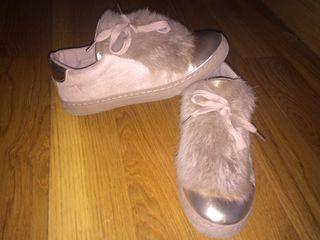 Zapatillas sneakers rosa palo