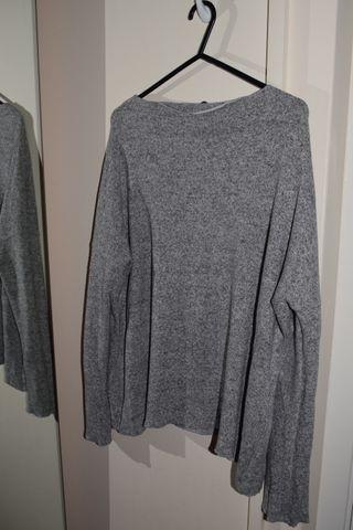 Sweater Grey Zara knitwear