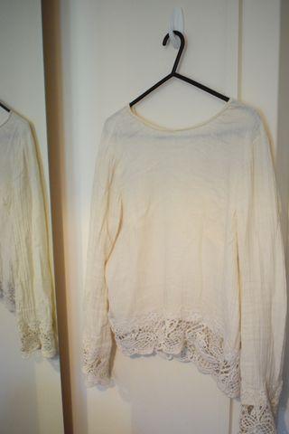 Beige Shirt Zara