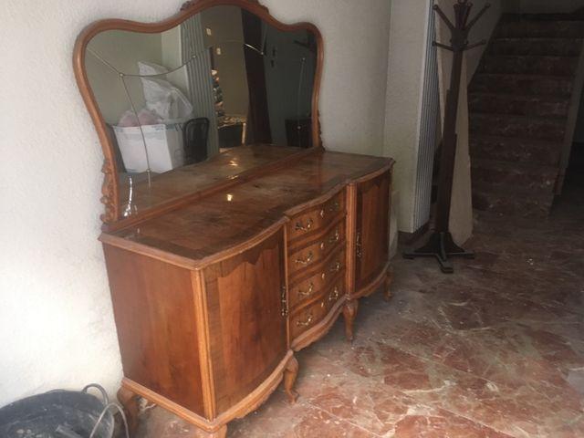 Mueble comedor antiguo de segunda mano por 70 € en Oliva - wallapop