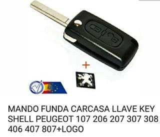 Carcasa Mando Coche . Seat Audi Peugeot + Marcas