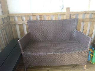 sofa banco jardin