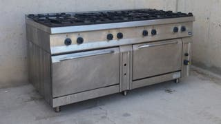 Cocina hostelería 8 fuegos + 2 hornos