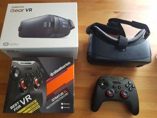 Gear Vr Oculus/Samsung + mando oficial