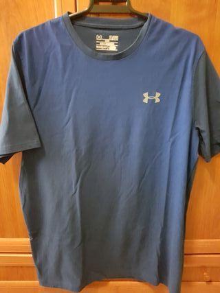 camiseta under armour talla S modelo loose