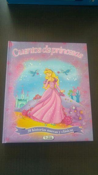 Libro infantil Cuentos de Princesas