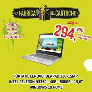 Portátil Lenovo Ideapad 320 Windows 10