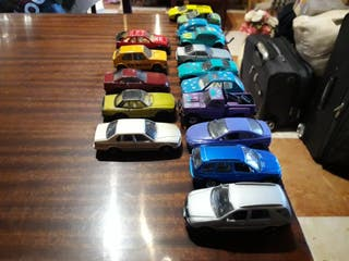 coches miniatura 1/64 WEELI