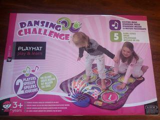 Juegos niños manta musical numeros
