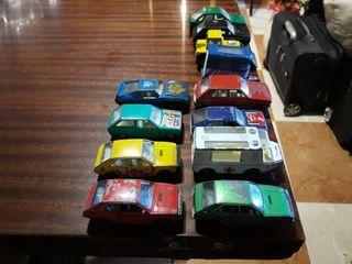 coches miniatura escala 1/64 MIRA