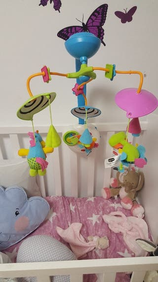 Carusel movil para la cuna de bebe