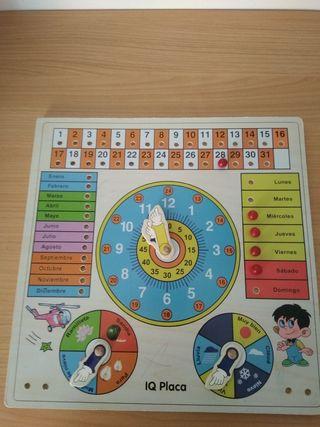 puzzle de hora