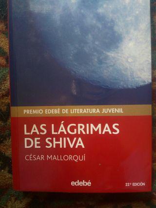 Libro lectura (las lágrimas de shiva)