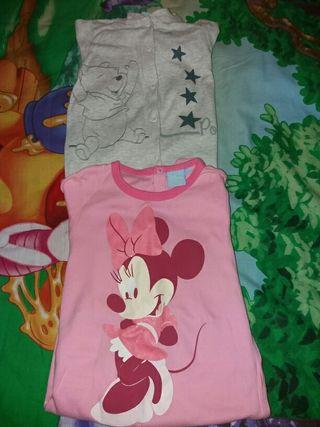 Lote de pijamas disney talla 18-24 meses