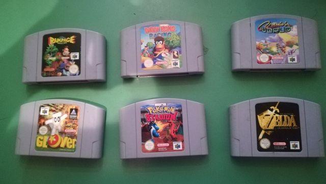 Cartuchos Juegos Nintendo 64 De Segunda Mano Por 10 En Barcelona