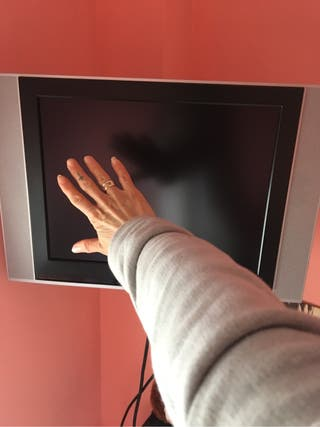Tv plasma Lg, 19, con mando a distancia