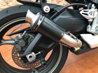 Tubo escape moto gsxr l1