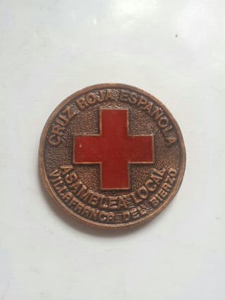Medalla cruz roja villafranca del bierzo León