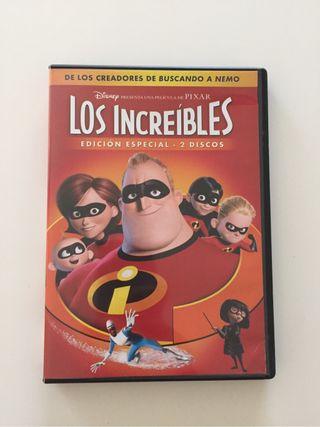 DVD Disney Los increíbles