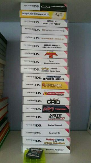 Nintendo DS 21 juegos + Nintendo DSI XL