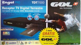ENGEL PRO TDT 7000 RECEPTOR TV DIGITAL TERRESTRE