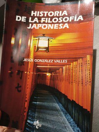 Libro 'Historia de la filosofia japonesa'