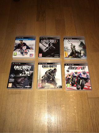 Lote de juegos (PS3)