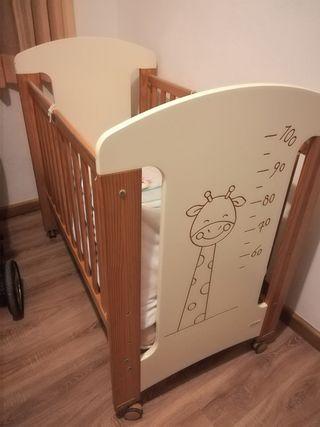 Cuna bebé y accesorios