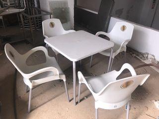 Mesas para bar plasticas
