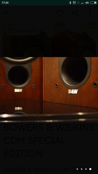 Altavoces HiFi B&W