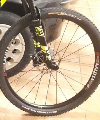 ruedas industry nine 235 ultralight ejes boost