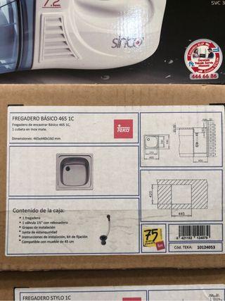 Fregadero Basico 465 1C